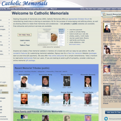 Catholic Memorials