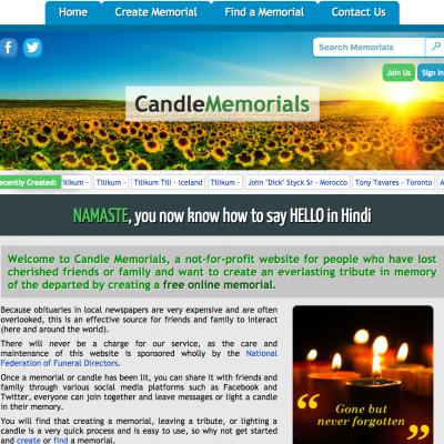 CandleMemorials